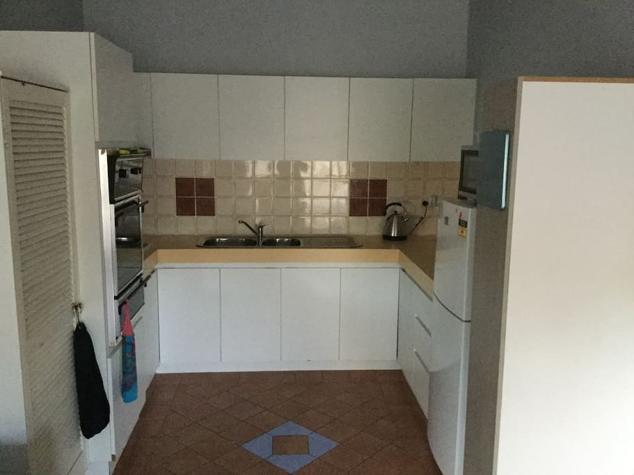 Full function kitchen with dishwasher