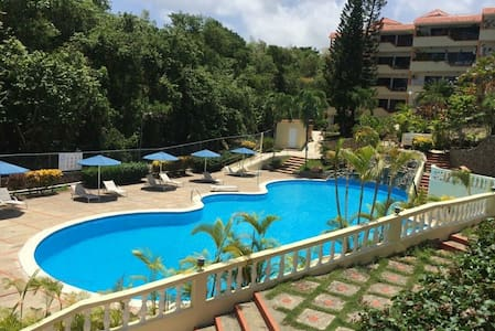 Great studio with the biggest & best pool in Sosua