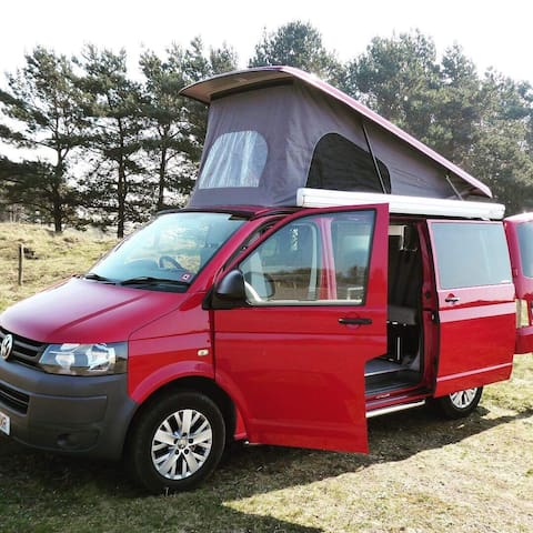 Luxury VW T5 Campervan 4 Berth Automatic
