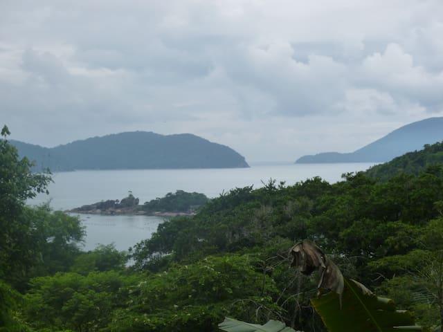 Vista da Ilha Anchieta