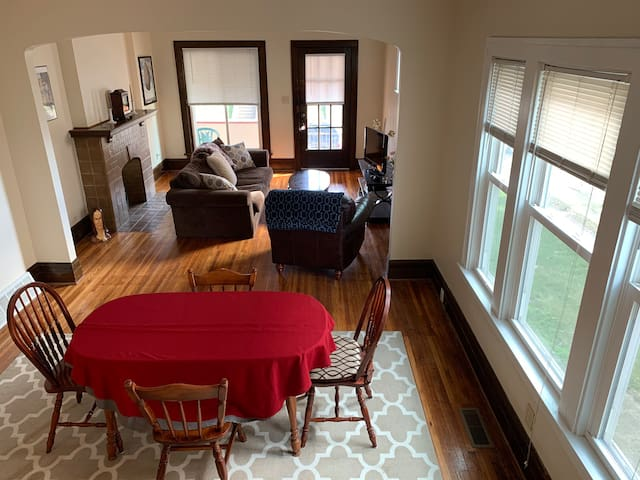 Historic Duplex w. Parking - Close to Everything!