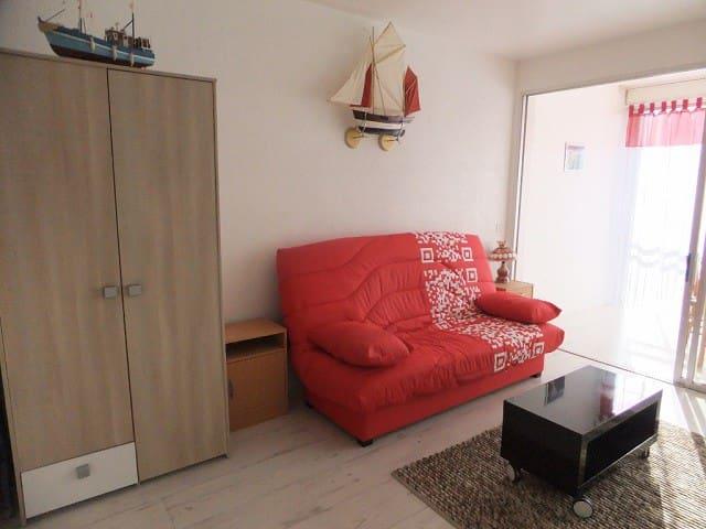 studio parking à 2 mn de la plage - Le Pouliguen - Apartmen