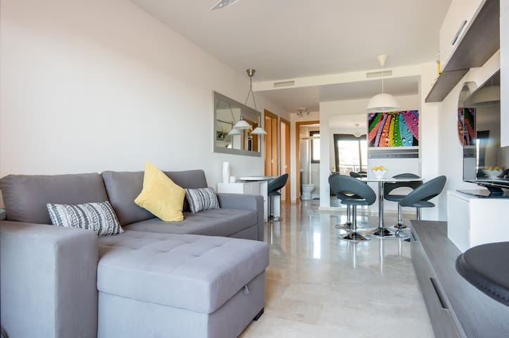 Beaches & Golf Apartment!Cala Mijas - La Cala de Mijas - Apartemen