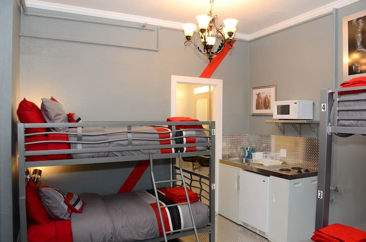 Four Bed Female · Music City Hotel, Single Bed 4-Bed Female Dorm Rm