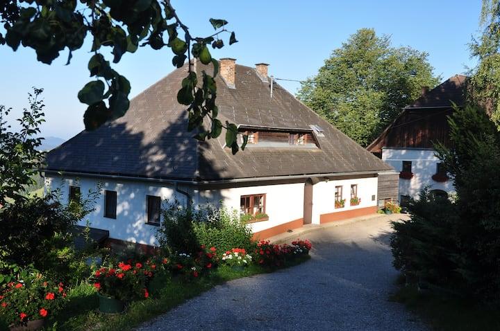 Ferienapartment 2 am Bauernhof in Diex/ Kärnten