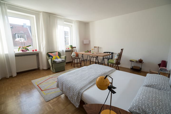 Comfy private room, greatly located - Essen - Leilighet