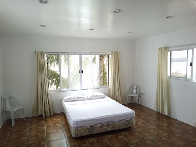 2 Bedroom Family Apartment with Private Beach. Dalaguete Cebu