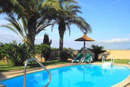 Relaxing Private Villa close to Es Trenc Beach - Campos