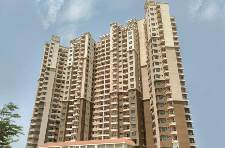 Utkal heights, the tallest building in Bhubaneswar