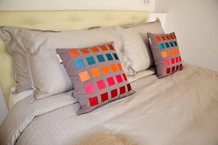Suite Notre Dame - Lit / Bed - Queen size -