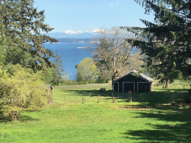 Whidbey Island view home with 4 bedroom/3 bath