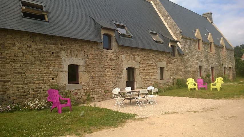 Grande maison de caractère en morbihan - Languidic