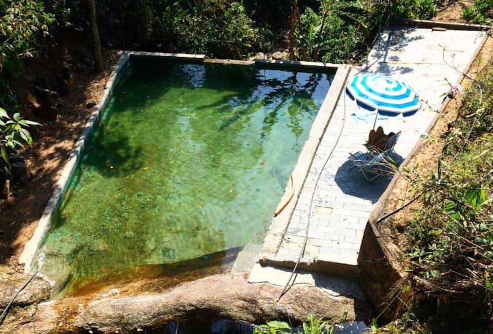 Piscina Natural / Natural Waterfall Pool