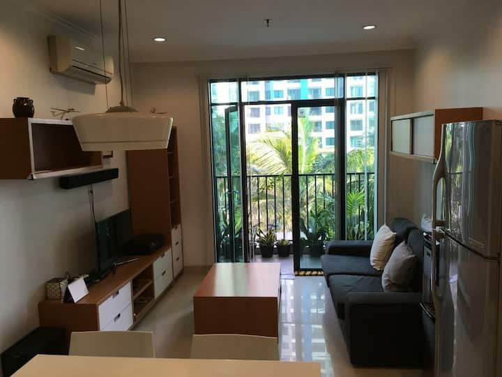 Comfy 2BR Apartment in South Jakarta