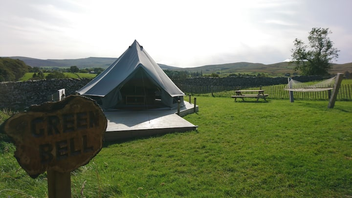 Green Bell, Luxury camping for two in the Dales