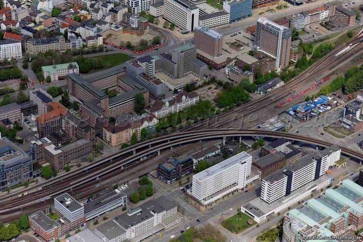 Cozy Hafen 150m Hauptbahnhof Speicherstadt
