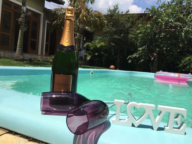 Casa de Campo churrasqueira piscina - Vargem  Grande Paulista  - Lyxvåning