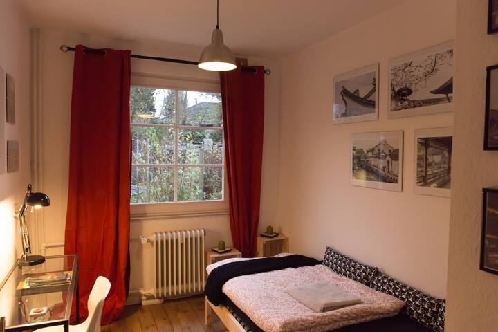 Gallery room with garden view - Hamburg - House