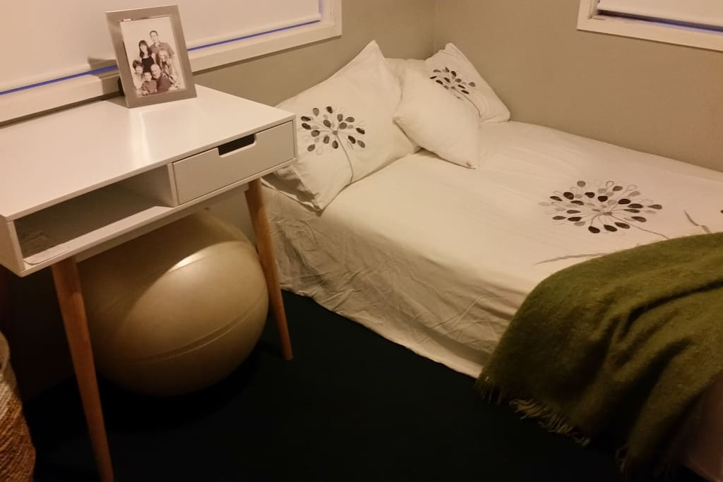 Light and fresh, small, modern yet very comfortable room