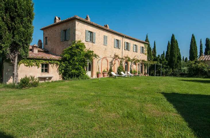 Fontanelle - Gorgeous Villa in Montalcino Region - Montalcino - Willa