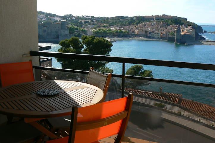 appartement Collioure bord de mer - Collioure