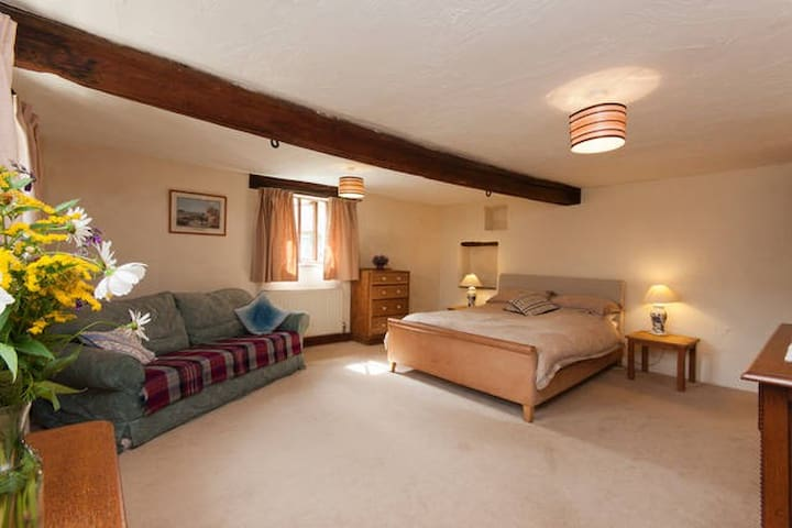 Room1, Farmhouse, Heart of SDevon - Halwell - House