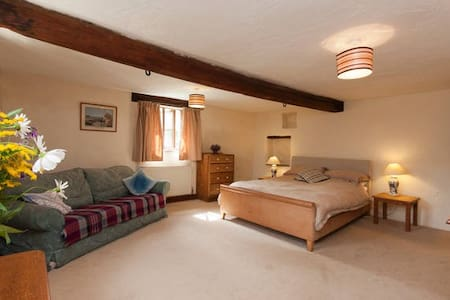 Room1, Farmhouse, Heart of SDevon - Halwell - Maison