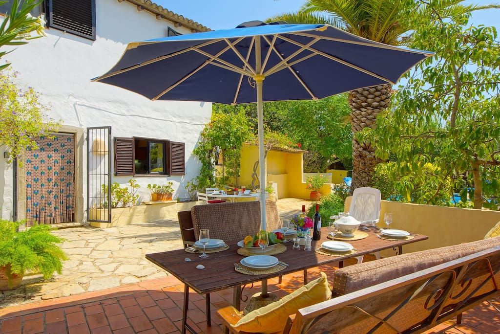 The Patio is perfect for Al Fresco Dining