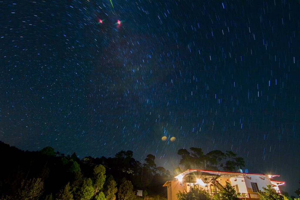 Starry Nights Visible from the ground!