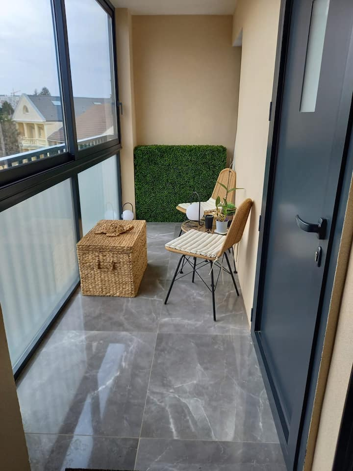 Appartement dans petite résidence calme
