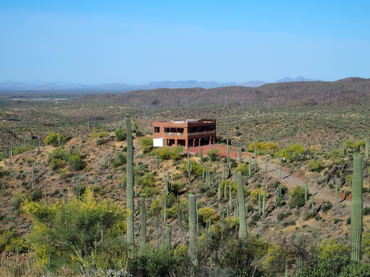 Jumping Dog Vista sits on 40 acres overlooking Superstition Wilderness