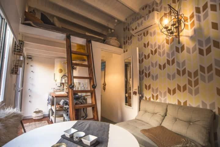 ¡Una Tiny House en lo mejor de Palermo Hollywood!