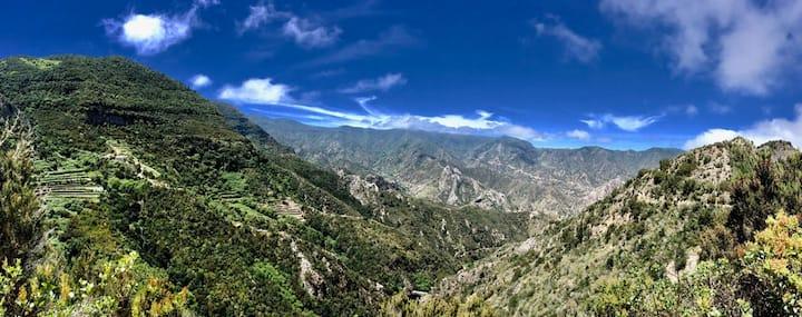 Eco Retreat • Finca Los Zarzales • La Gomera