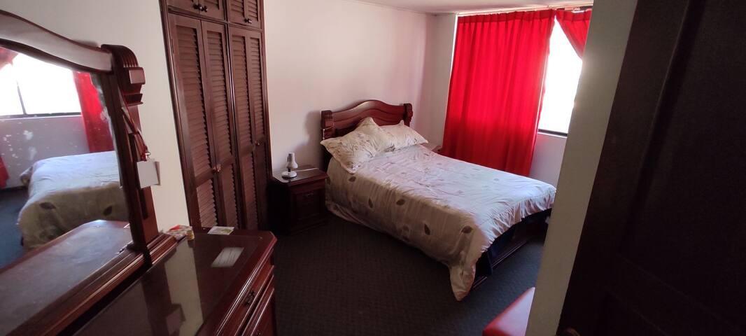 Habitación para viajeros en Quito- Ecuador