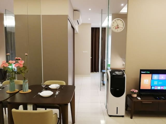 D4#Dorsett suite,500M Wifi,Bathtub,Publika