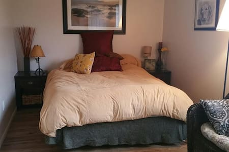 Spacious and Bright Room with Queen Bed - Aurora