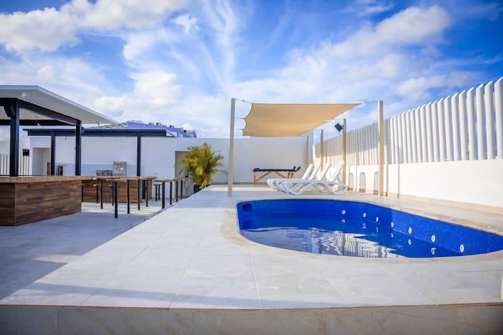 Hostel & Beach Club Agua y Fuego - Male 8 beds