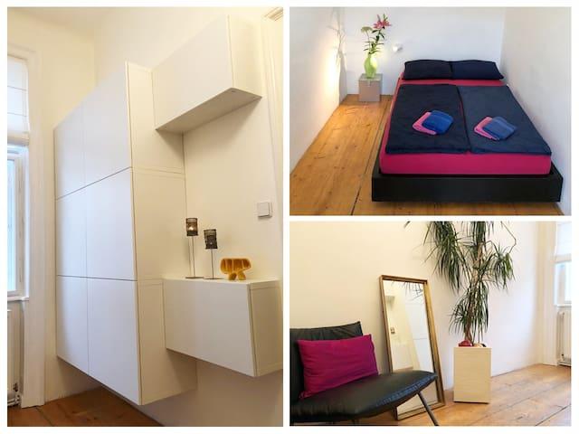 ☆Charming bright room im kultigen Biotop von Wien☆