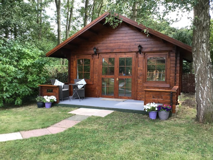 Log Cabin, Saxtead, Framlingham.