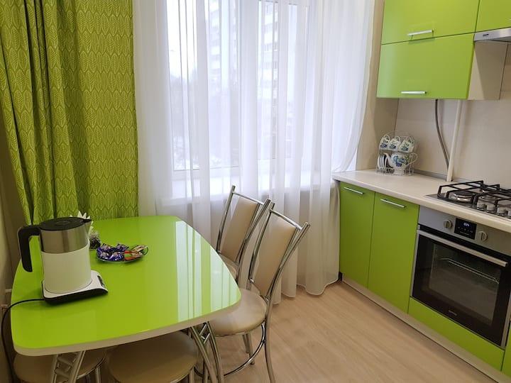 Уютная квартира рядом с метро проспект Победы