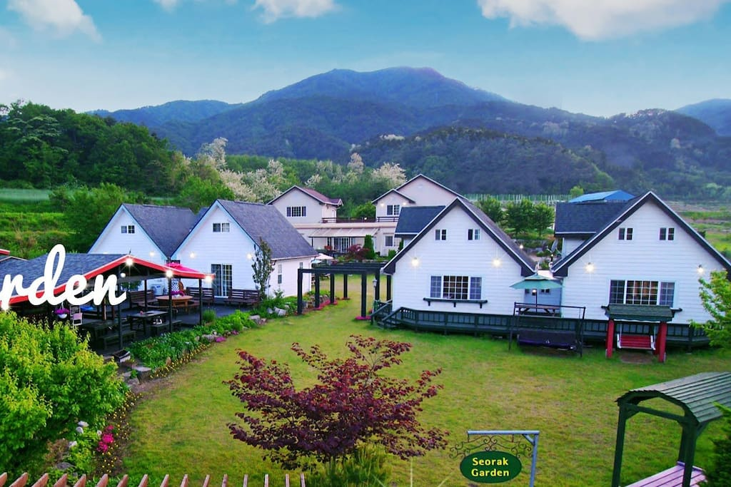 Seorak Garden Villa will make you very welcome and give you help and advice