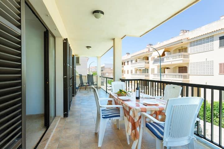 M1 Completo y  práctico  apartamento de 120 m2