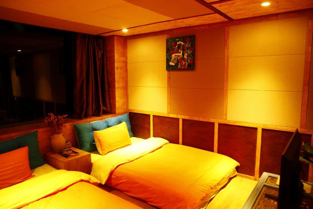 蹋蹋米双人间之卧室