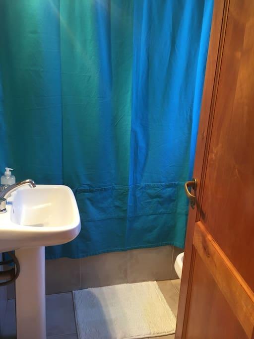 baño en planta alta