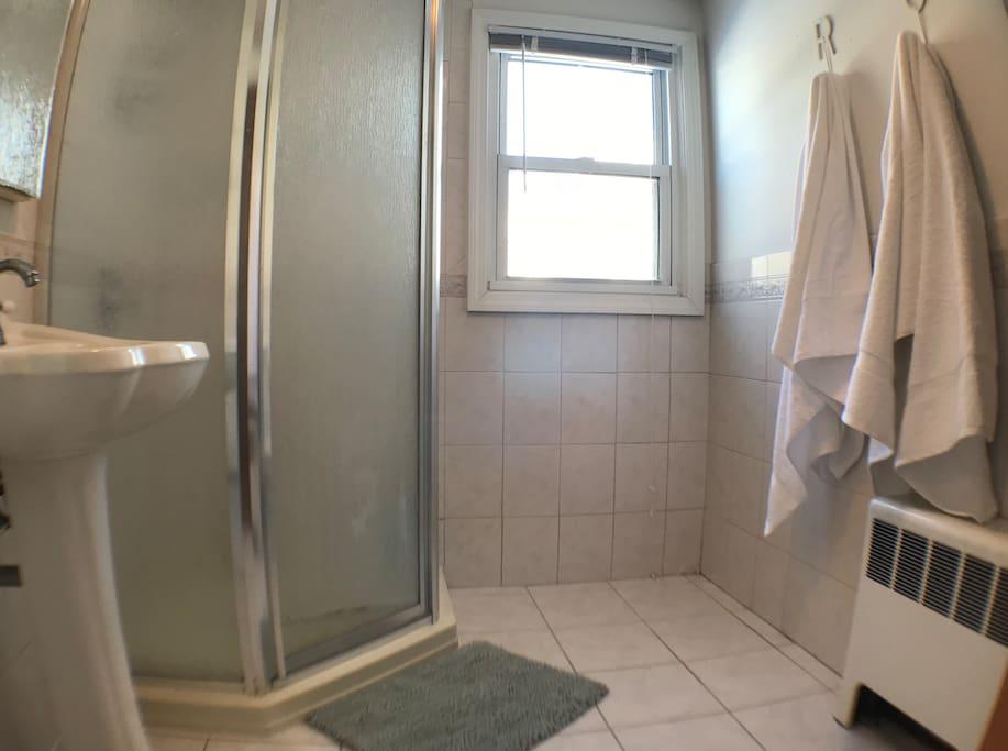 Private bath/plush Turkish Towels