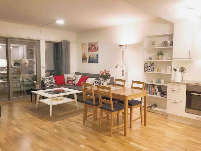 Cozy 1 bedroom apartment with balcony and parking