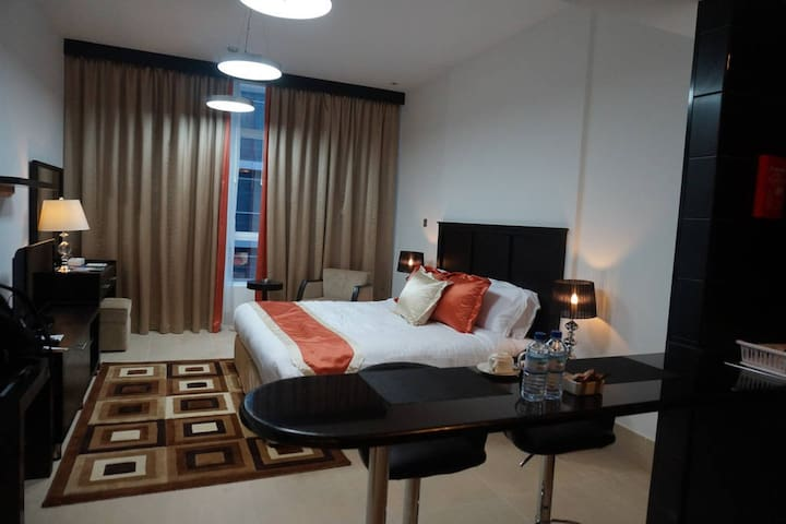 Studio-Fantastic Apartment n AbuDhabi (Room B)