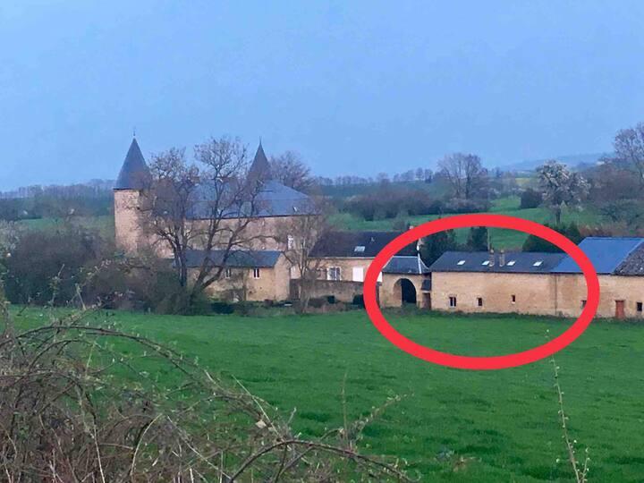 Double gîte près du Château de Lombut