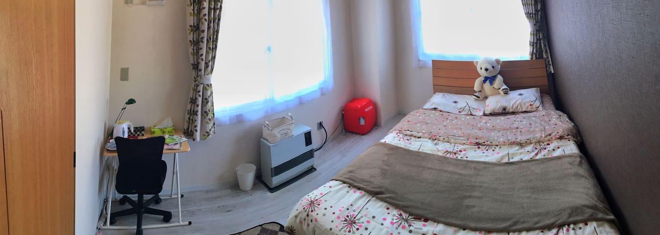 Central Sapporo double room/WiFi/subway st. 1min - Kita-ku, Sapporo-shi - Apartment
