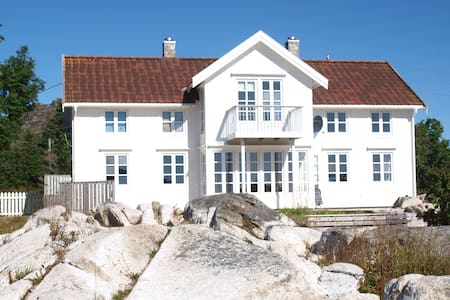 Privat rooms in beautiful villa - Ballstad